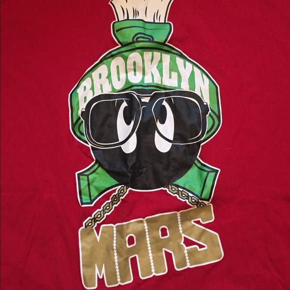 official photos 42d16 daca0 Jordan Other - Jordan Marvin the Martian Son Of Mars Brooklyn Tee